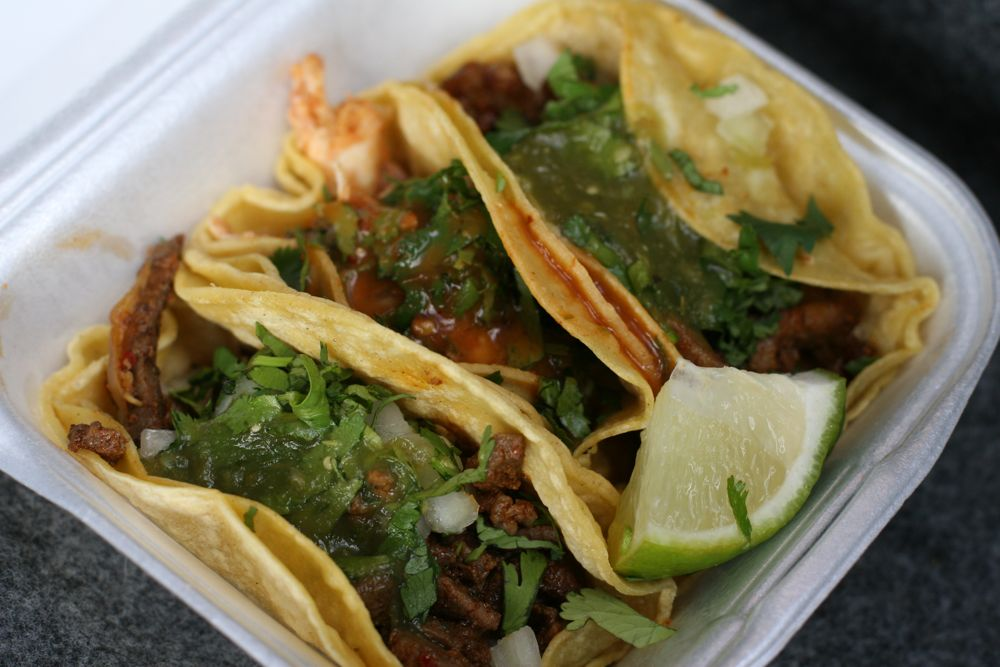 Gas Station Tacos: Shell Station on Industrial Blvd  in